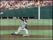 Ondulation sur lancé de Base Ball